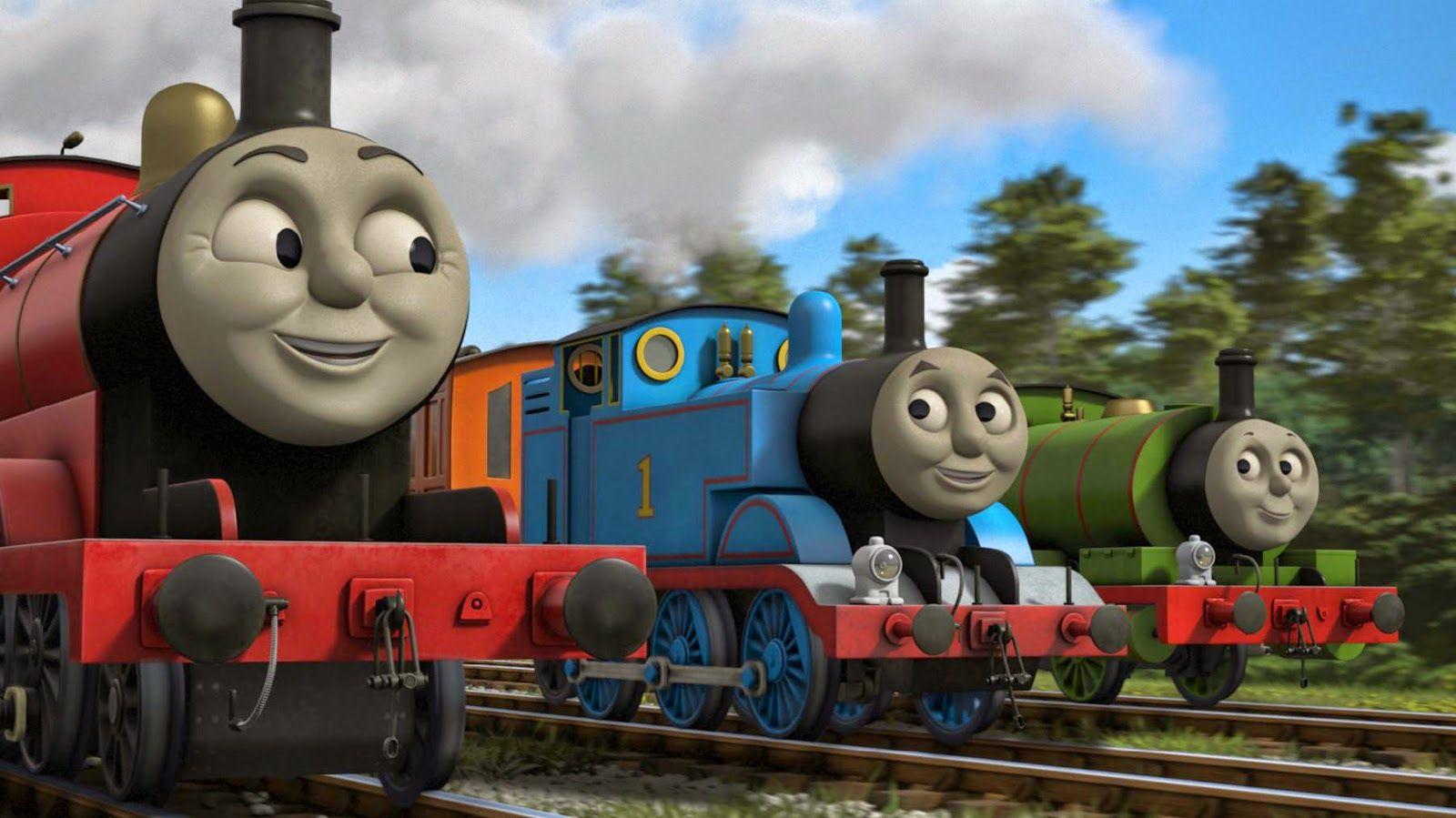 Thomas the tank engine wallpaper border - Thomas Train Wallpaper