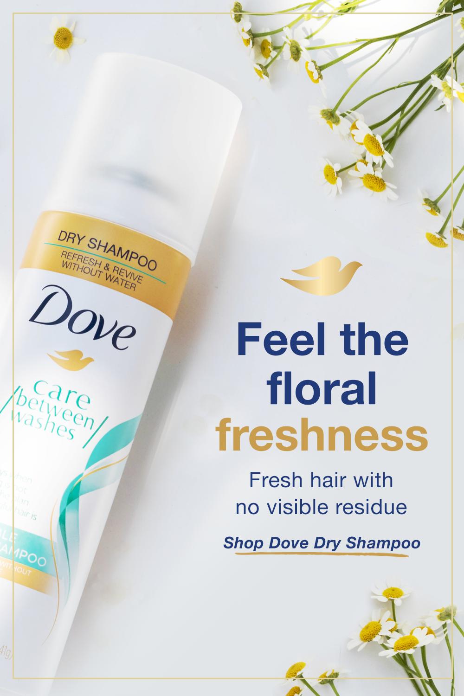 Shop Now Dove Dry Shampoo Fresh Hair Shampoo