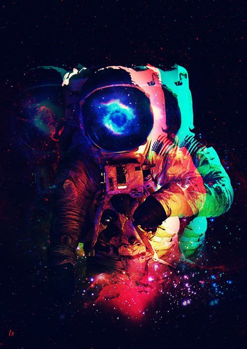 wallpapers trippy astronaut surfer - photo #9