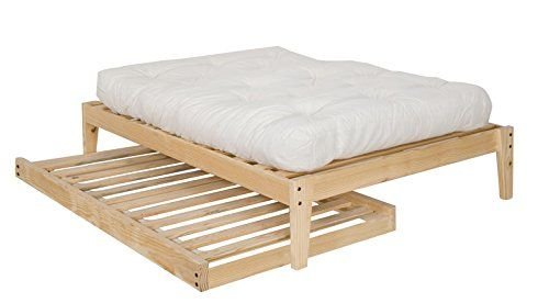 Trundle to fit under ikea leirvik bed twin for Simple twin bed frame