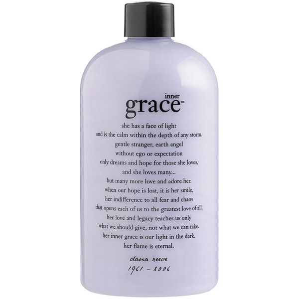 Philosophy Inner Grace Charity Shower Gel 24 Liked On Polyvore Featuring Beauty Products Bath Body Products B Shower Gel Body Cleanser Ewg Skin Deep