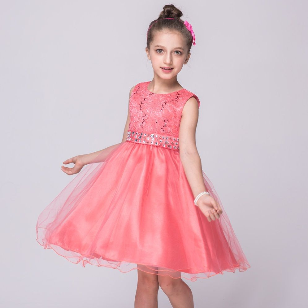 Free shipping buy best retail girl party dress girls baby outfit