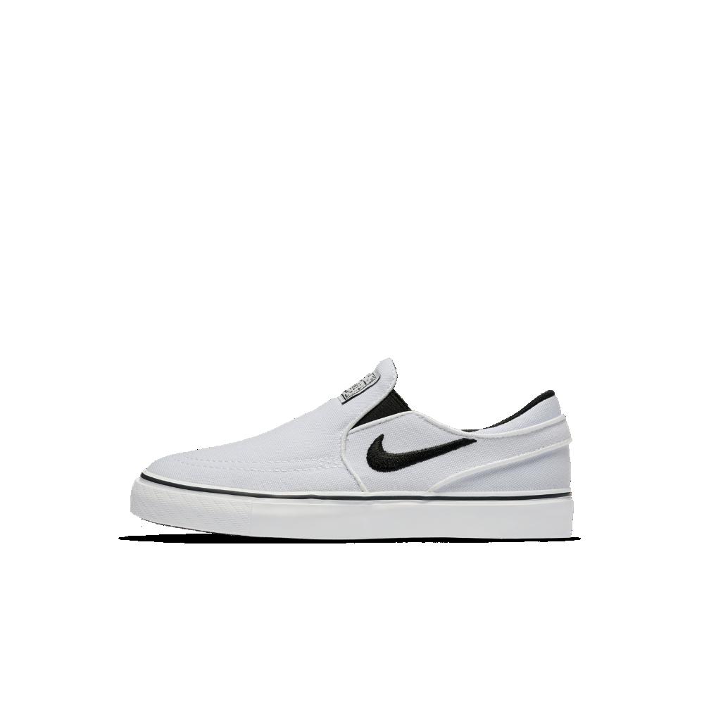 67ea25938f27 Nike SB Stefan Janoski Canvas Slip-On Little Kids  Skateboarding Shoe Size