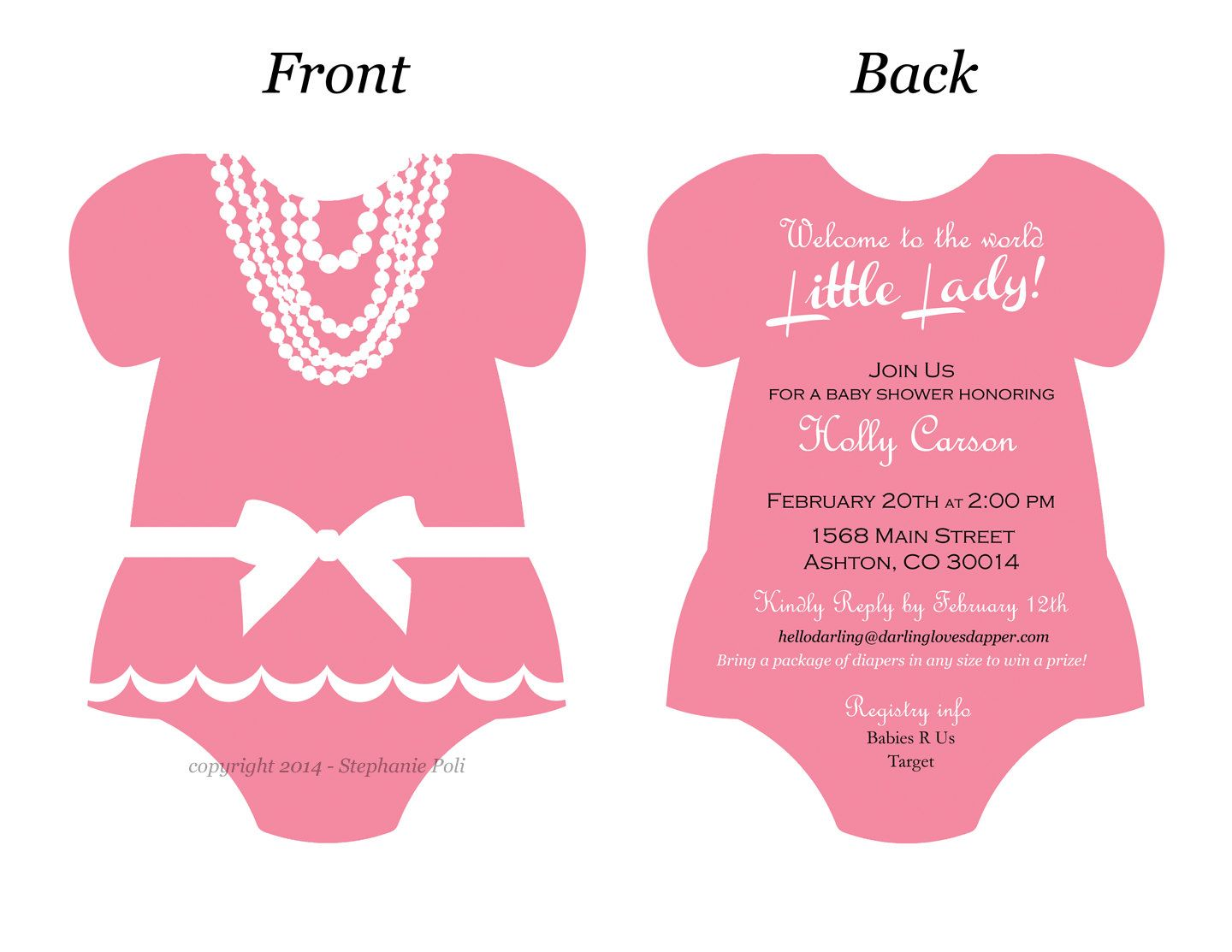 baby onesie template for baby shower invitations google search