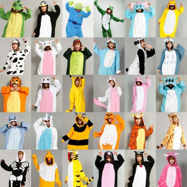 Winnie the Pooh Onesie21 Kigurumi Fancy Dress Costume Hoodies Cosplay Pajamas UK