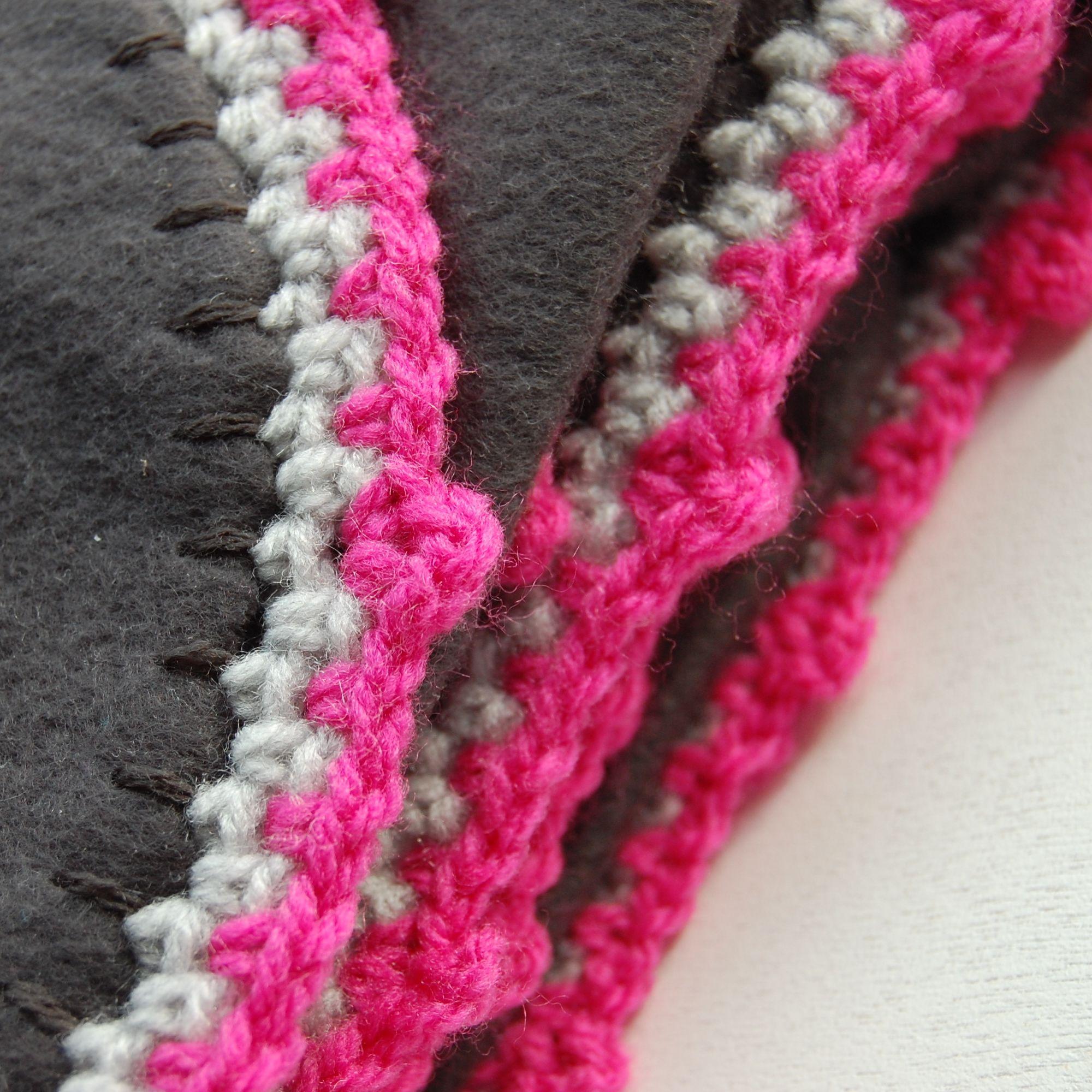 Fabulous Mooi randje haken om een fleece deken | anexe paturici - Knit #NP17