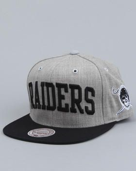 8b264ce75 Mitchell & Ness - Oakland Raiders NFL Throwback basic Snapback cap ...
