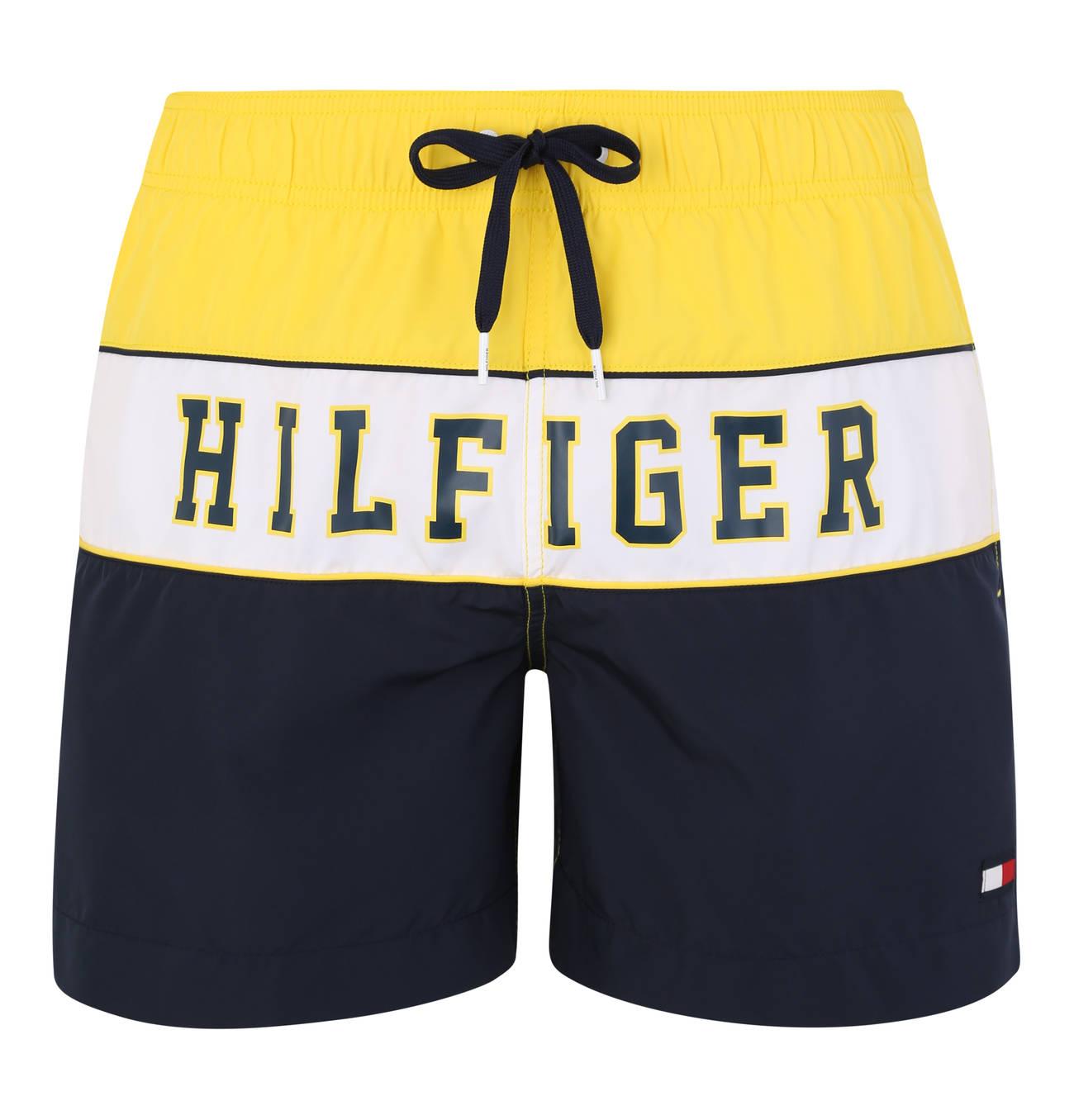 Pin Von Rohit Navghare Auf Shorts Badeshorts Colour Blocking Tommy Hilfiger