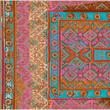 Papier peint Elitis Foulards Rajasthan VP 683   Papier peint, Papier peint elitis, Peindre