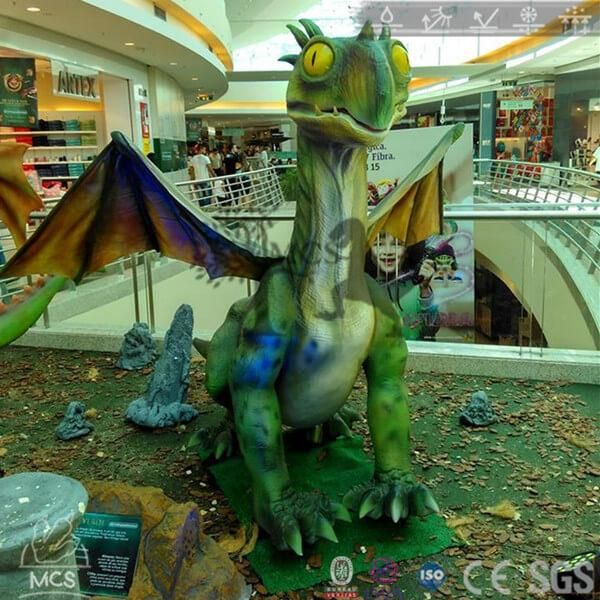 Dragon Show Green Dragon(Verde) Dragon Robot