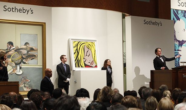 Sotheby's Banks $266.6M