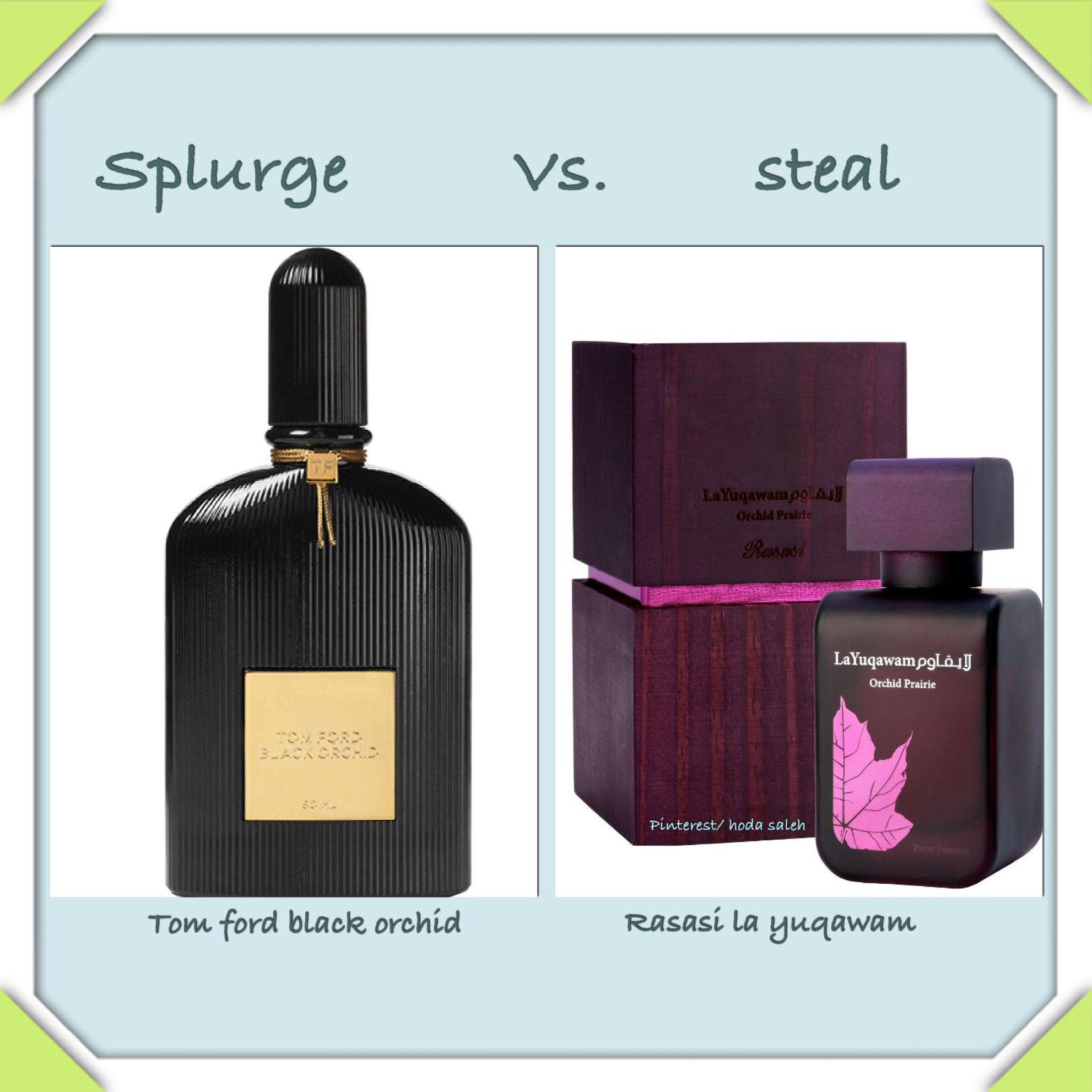 Tom Ford Black Orchid Is Similar To Rasasi La Yuqawam Perfume