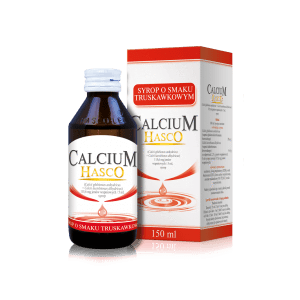Calcium Hasco Syrup With Strawberry Flavor 150ml Children Up To 6 Years Flavors Calcium Strawberry