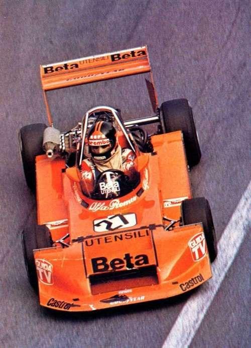 Piercarlo Ghinzani with March 793 Alfa Romeo