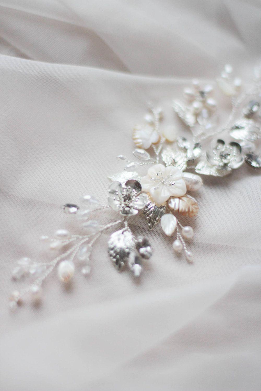 Pearl Bridal Hair Comb Wedding