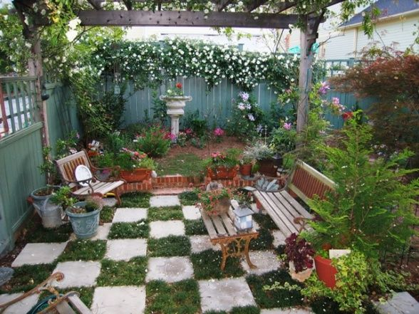 Small Secret Garden Ideas - Google Search