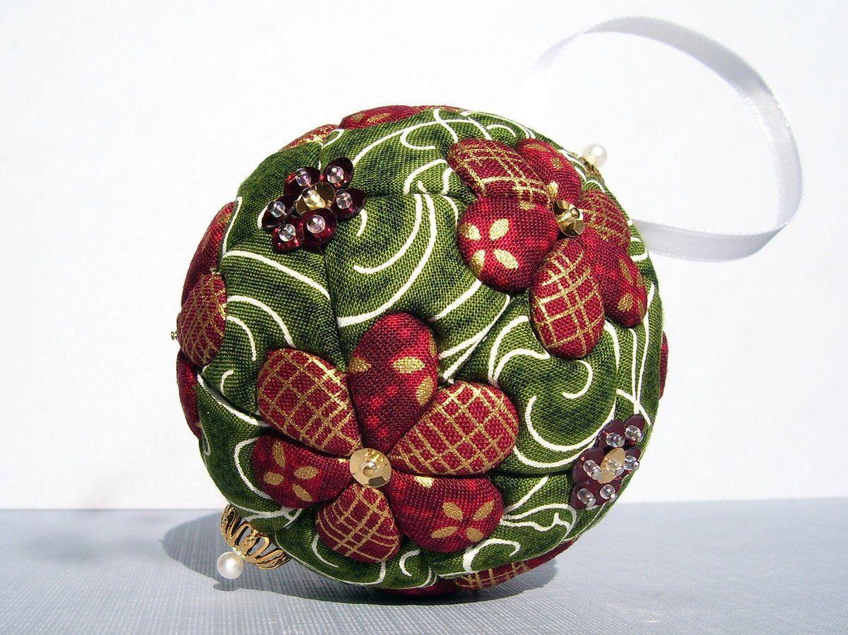 новогодние шары своими руками фото мастер класс один