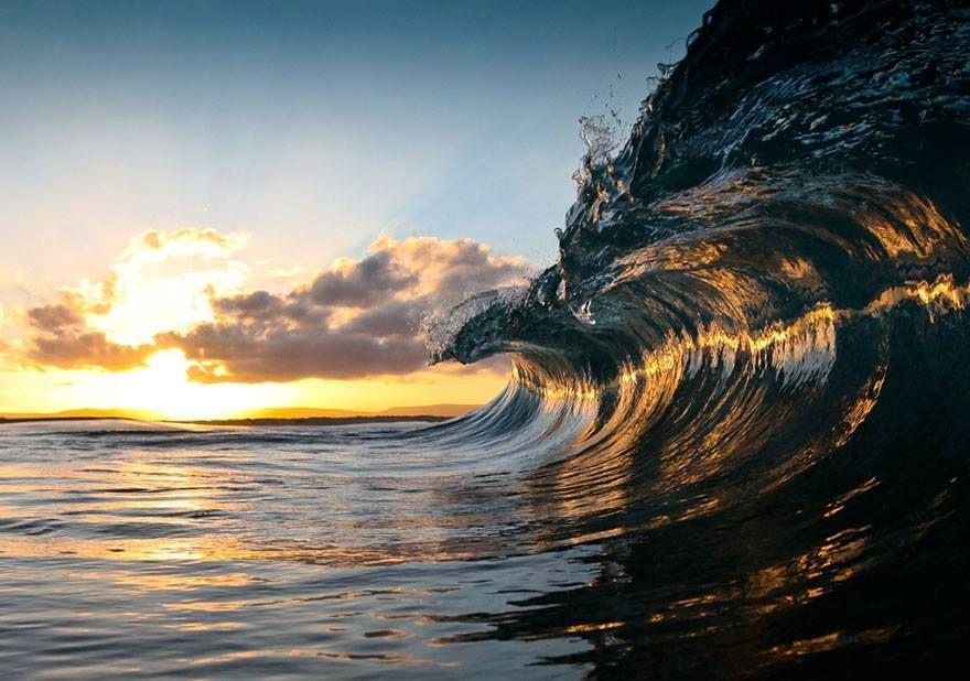 Espectaculares fotografías del océano captadas por el fotógrafo Warren Keelan.
