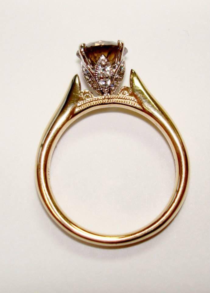 My new custom engagement ring!