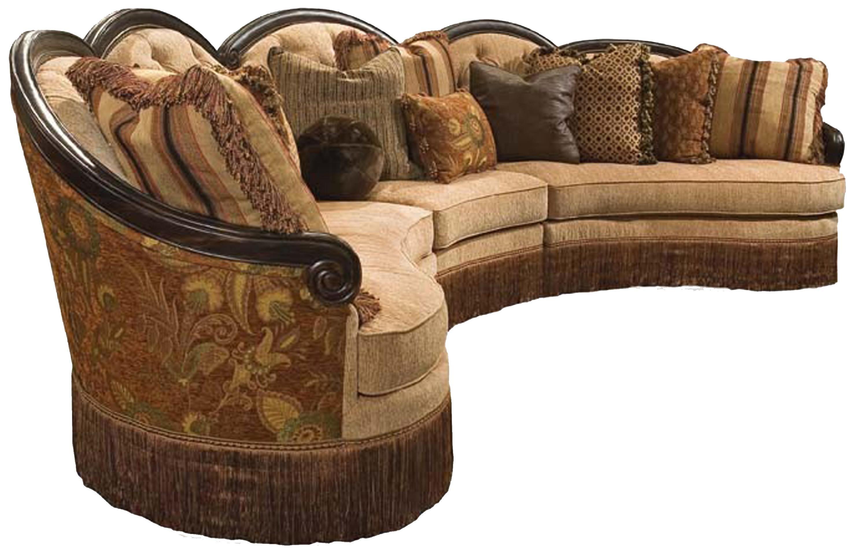 Grace 3pc Sectional Sofa by Rachlin Classics