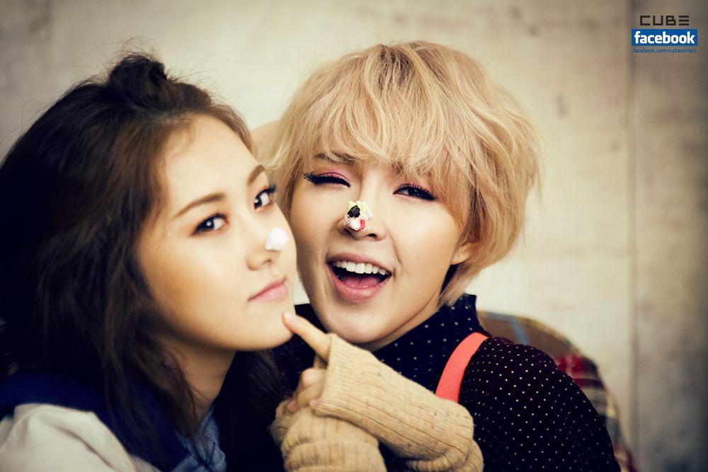 Gayoon and Jiyoon