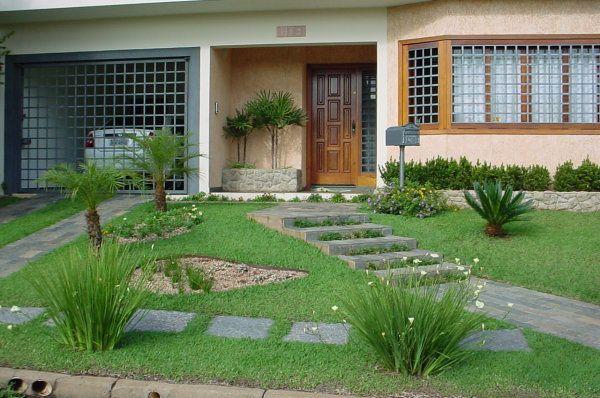 Modelos de jardins residenciais para frente de casa for Modelos jardines para casas
