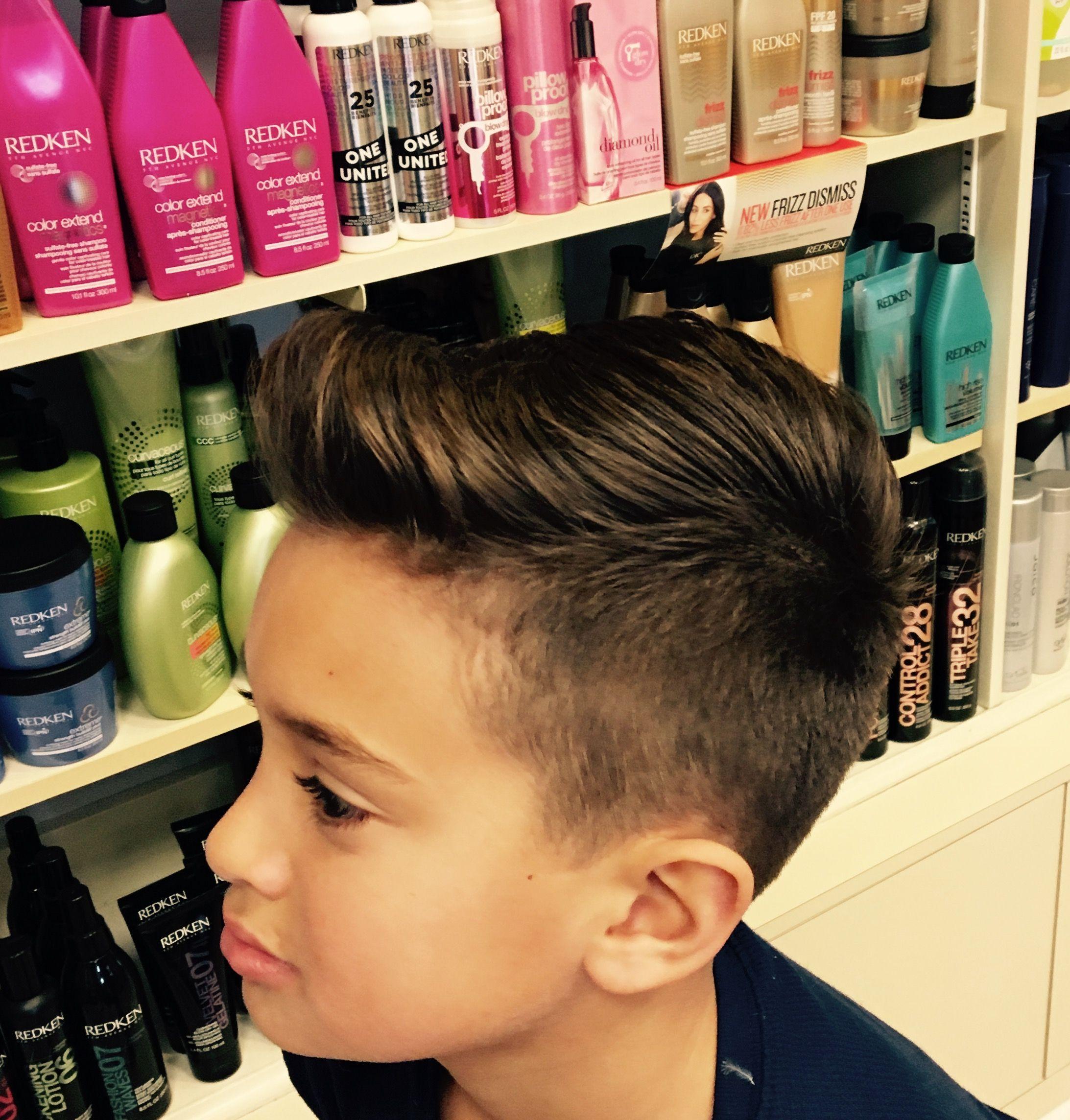 Boys cut daniel nathan hair by shanelle pinterest boy cuts