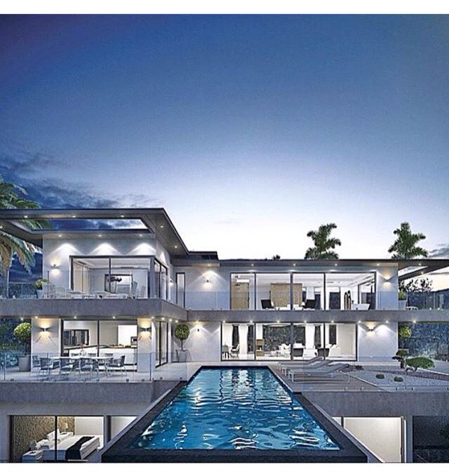 Pin By Homechargingstations On Homearchitecture Beautiful Modern Homes Fancy Houses Mansions