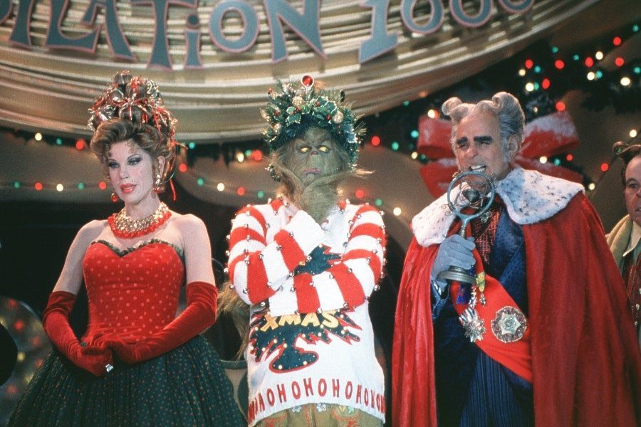 how the grinch stole christmas jim carrey - How The Grinch Stole Christmas 2000 Cast