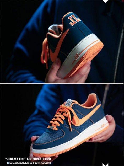 premium selection 0499c 39143 Nike Air Force Low - Jeremy Lin thomaskramer