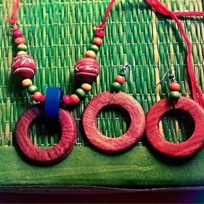 Handmade jewellery using beads rings and quilling paper..... Message for purchase or custom designs