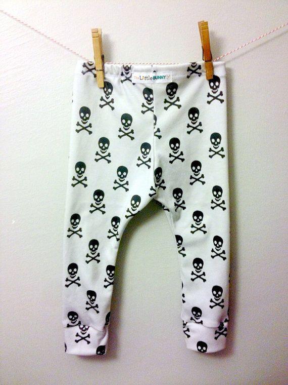 49c3a41d8 Skull baby leggings skulls boy toddler pants hip hipster fashion baby gray  leggings handmade baby wholesale kids organic cotton
