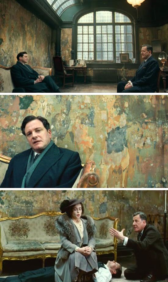 The King's Speech had the most amazing set design and cinematography!