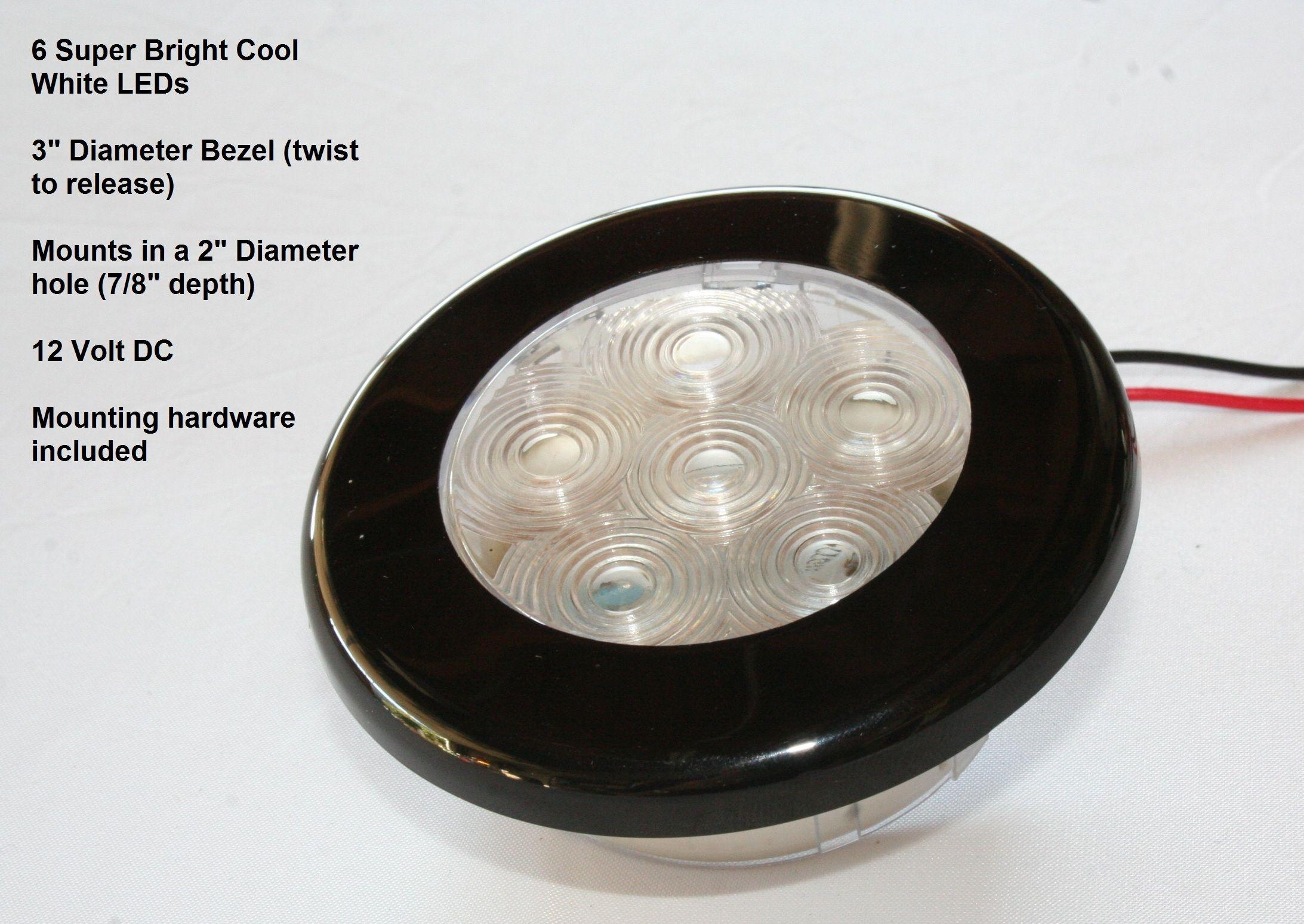 12 volt led dome light fixture httpscartclub pinterest 12 volt led dome light fixture arubaitofo Images