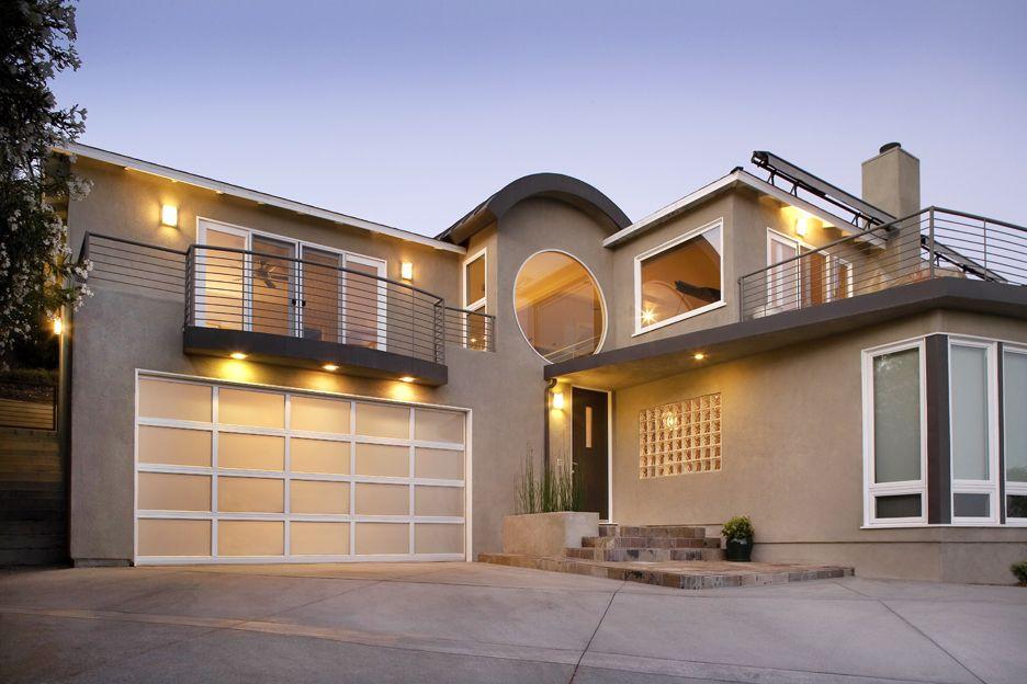Modern Home | White Garage Door | Thatu0027s what I do! | Pinterest | Garage doors Doors and Modern garage doors & Modern Home | White Garage Door | Thatu0027s what I do! | Pinterest ... pezcame.com