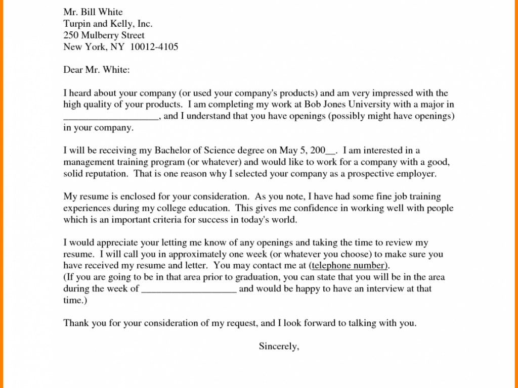 How Should I Send a Cover Letter?