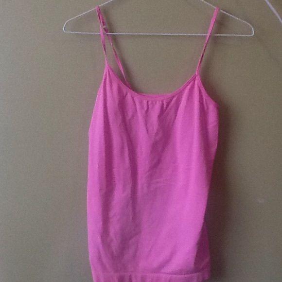 Tight cami Pale pink tight fit nylon cami lei Intimates & Sleepwear Chemises & Slips