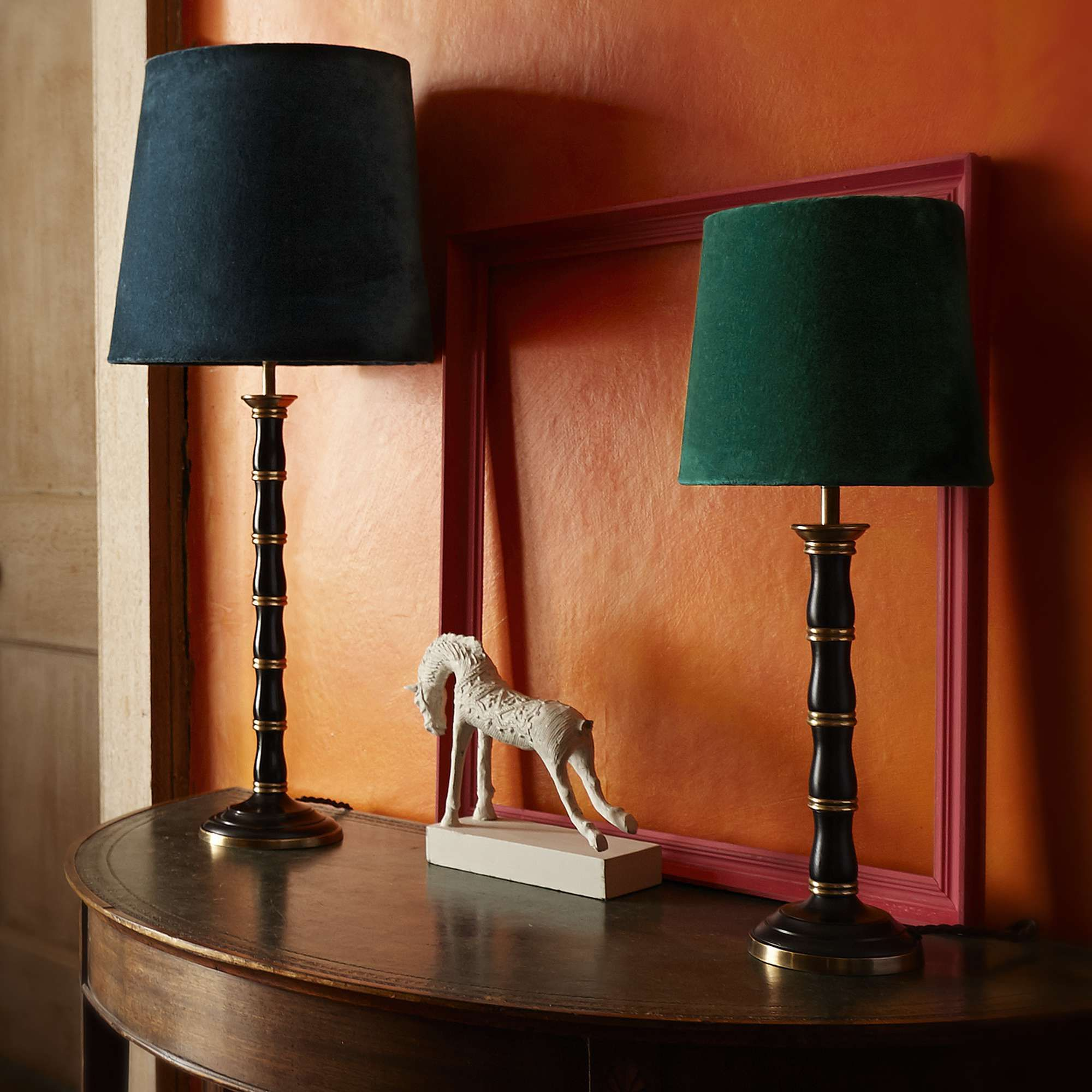 Larger Cleo Table Lamp In Brass Table Lamp Lamp Pooky Lighting