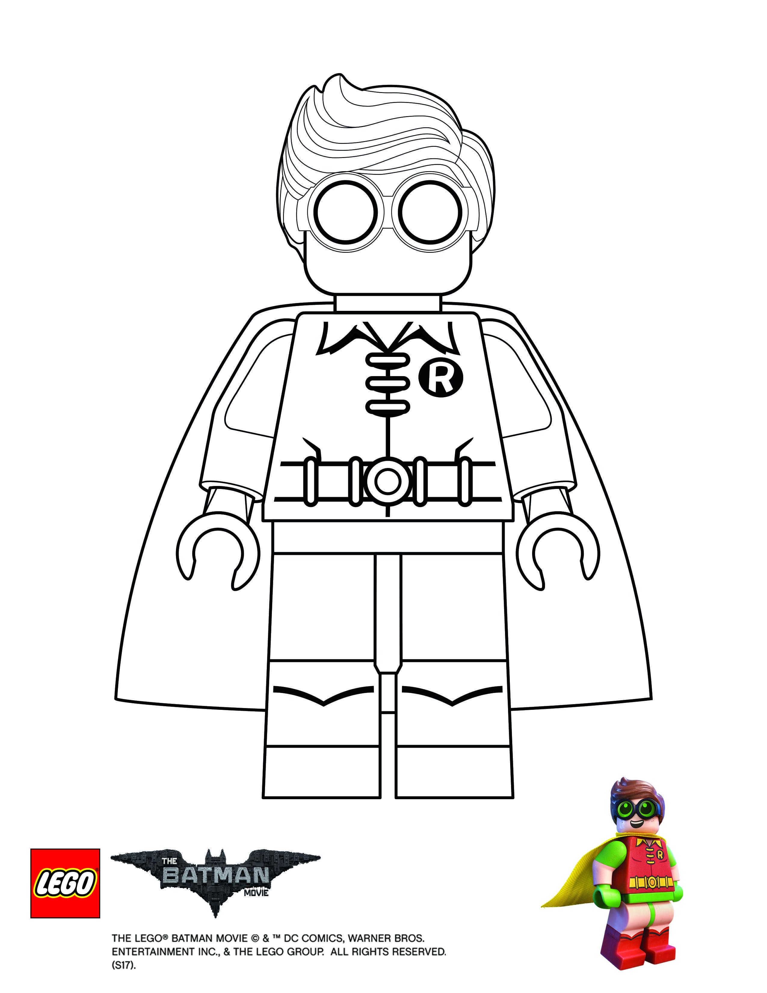 Lego Batman Movie Robin Coloring Page Superhero Coloring Pages Batman Coloring Pages Superhero Coloring