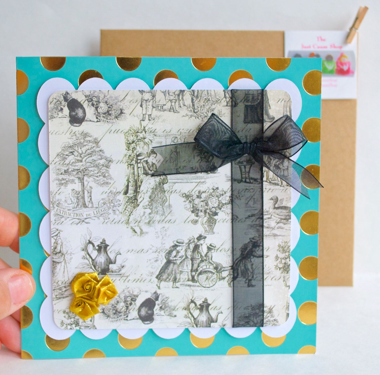 Handmade Greeting Card Blank Greeting Card Any Occasion Card
