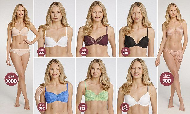 How can one woman be SEVEN different bra sizes? | Bra sizes, Of ...