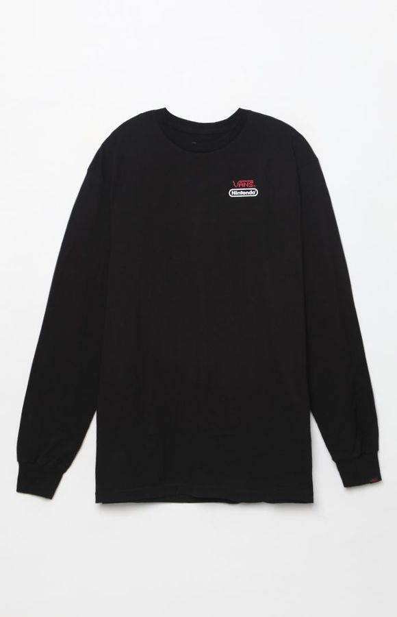 141ef66b49 Vans x Nintendo Long Sleeve T-Shirt