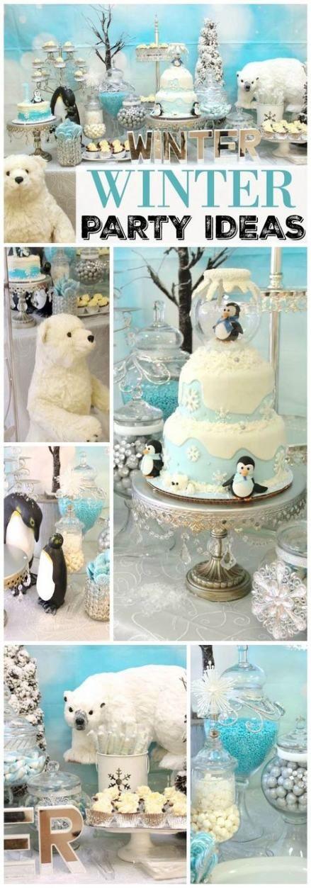 18+ Trendy birthday party ideas for boys winter baby shower #winterwonderlandbabyshowerideas