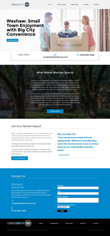 Real Estate Landing Page Design Real Estate Web Design Real Estate Website Landing Page Design