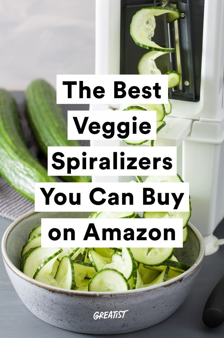 The Best Spiralizers You Can Get on Amazon to Make Veggies