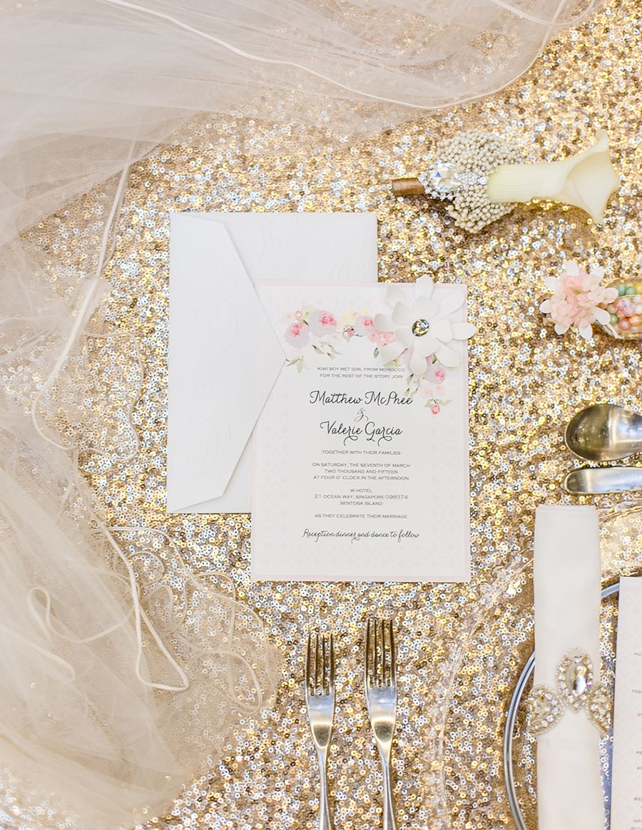An Affair to Remember: A Luxurious Styled Shoot at W Singapore ...