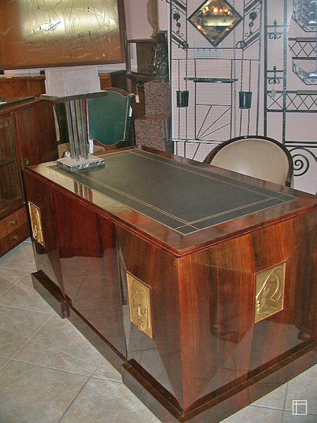Art Deco Desk. indoor-architecture.com interior design ...