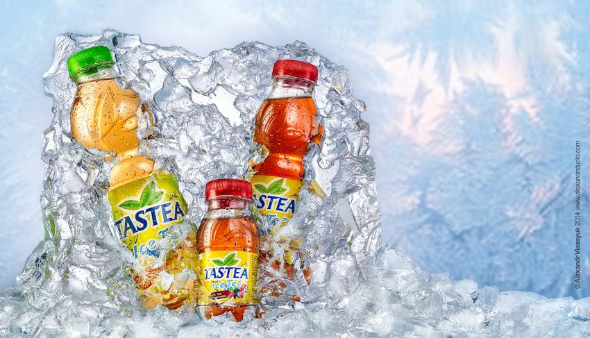 Using Artificial Ice In Advertising Photography: BTS of an Ice Tea ...