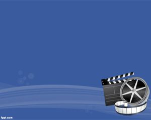 Movie background is a blue template for powerpoint suitable for movie background is a blue template for powerpoint suitable for movie maker movie producers or toneelgroepblik Choice Image