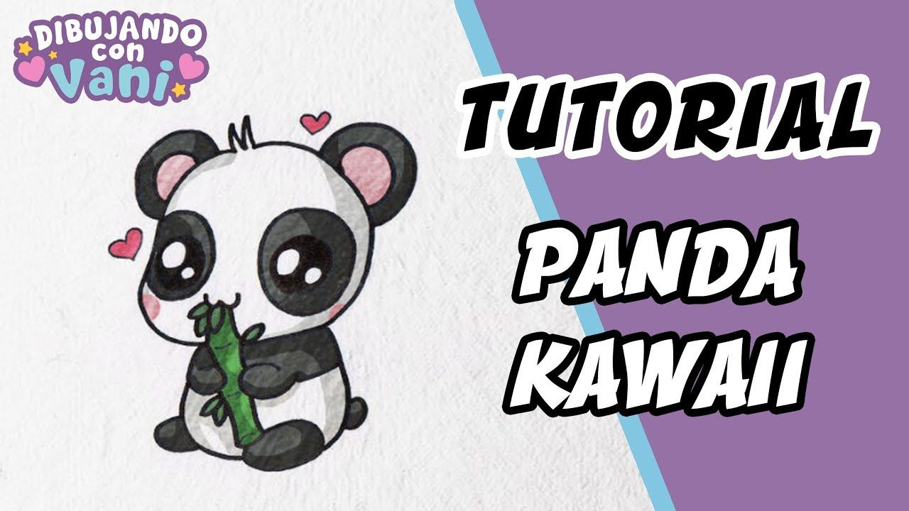 Como Dibujar Un Panda Kawaii Dibujas Faciles Paso A Paso Draw Panda Como Dibujar Un Perro Pug Kawaii Dibujo Paso A Paso